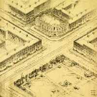 1917 - Competition Entry for NUI Senate House, Dublin
