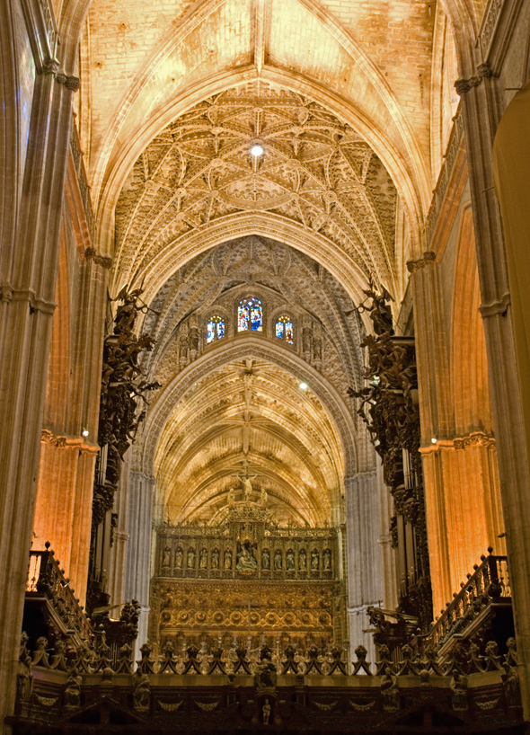 Seville Cathedral Giralda Spain Architecture