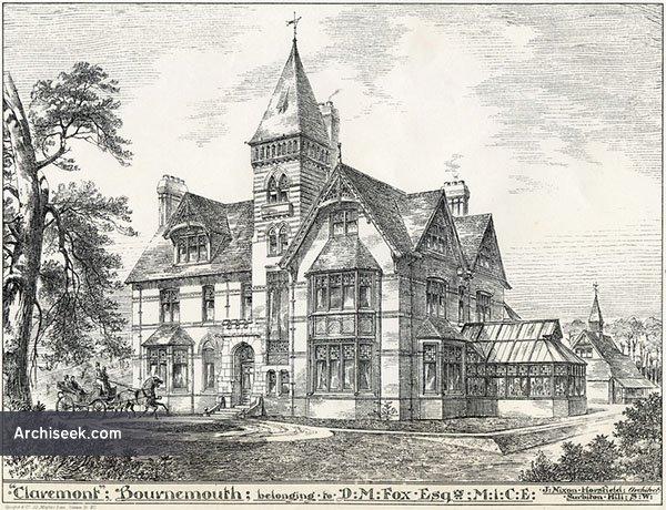 1884 39 claremont 39 branksome poole dorset - Architects poole dorset ...