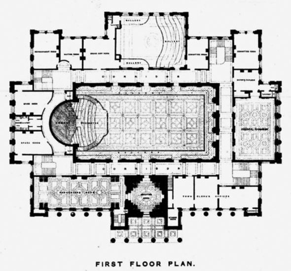 1873 bolton town hall lancashire architecture of for Eastlake house plan