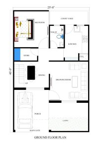 25x40 house plans for your dream house - House plans