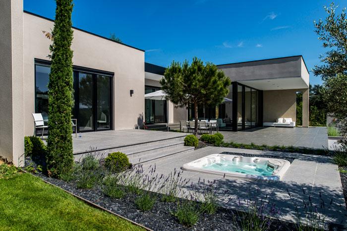 Terrasse Bois Maison Moderne
