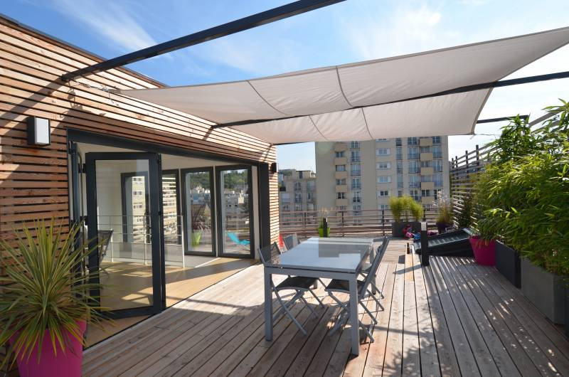 Mobilier Piscine Design Les 10 Plus Beaux Penthouses De Paris - Architectes-paris