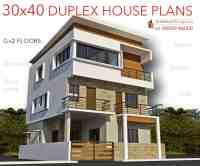 30x40 HOUSE PLANS in Bangalore for G+1 G+2 G+3 G+4 Floors