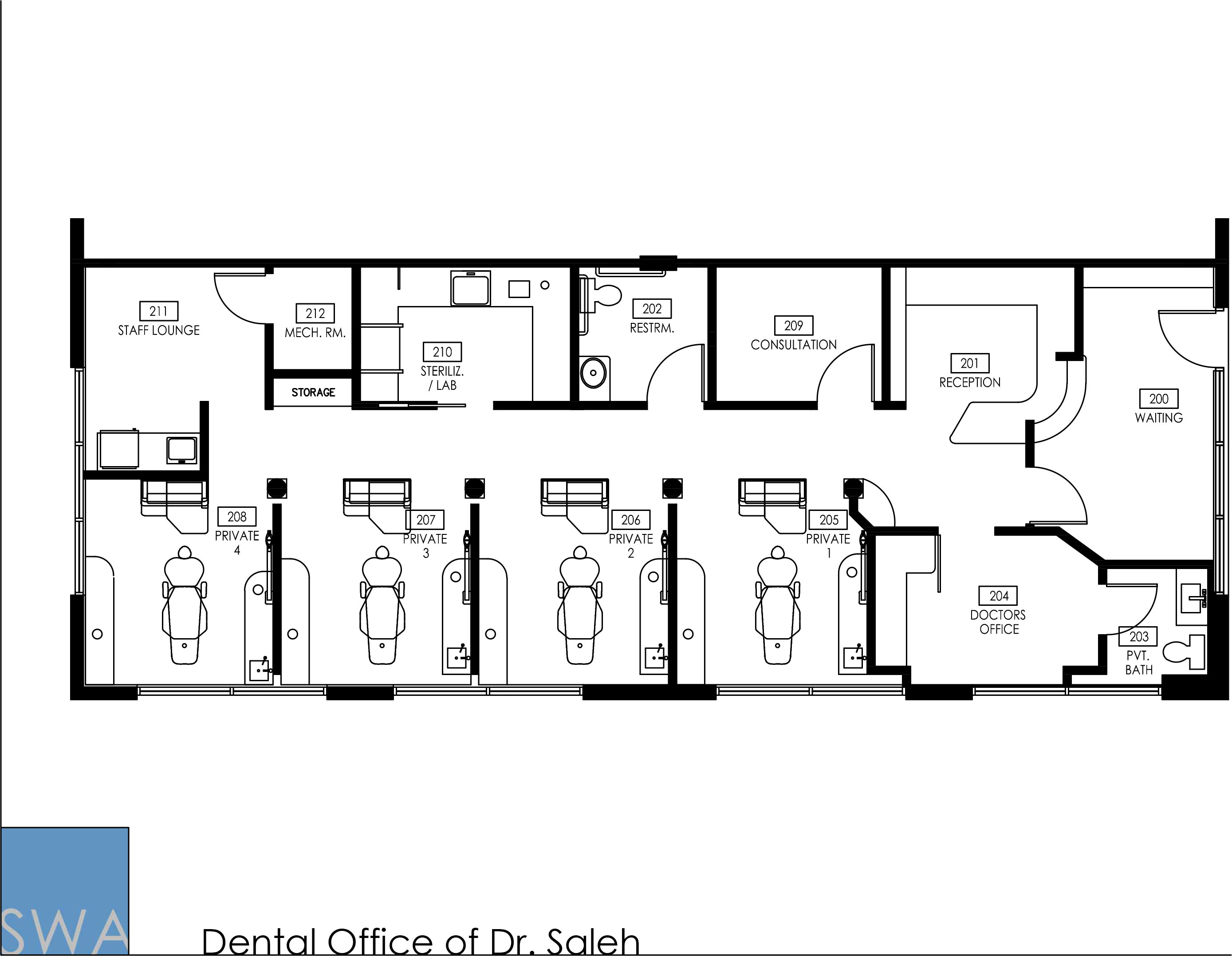 The Dental Office Of Dr Saleh Saunders Wiant Oc