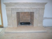 Limestone fireplaces and mantels by Architectural ...