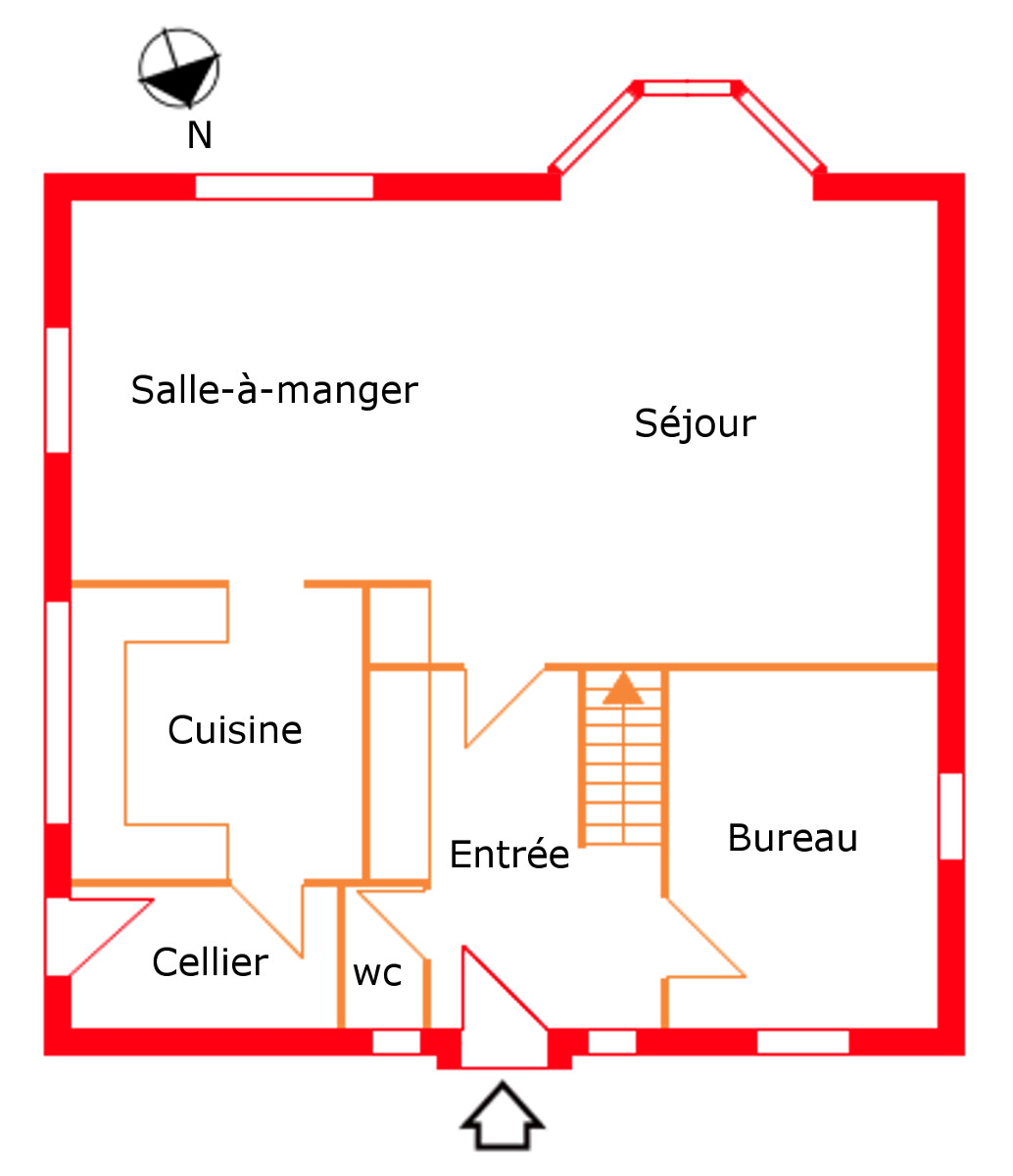 Feng Shui Büro Plan Maison Ideale Feng Shui Plans Deconception Id Es Tonnantes