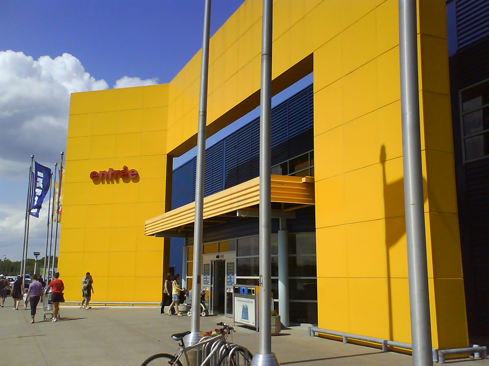 Bench Store Montreal Architecture 43 Branding Ikea Carves Up Cavernous Expanses