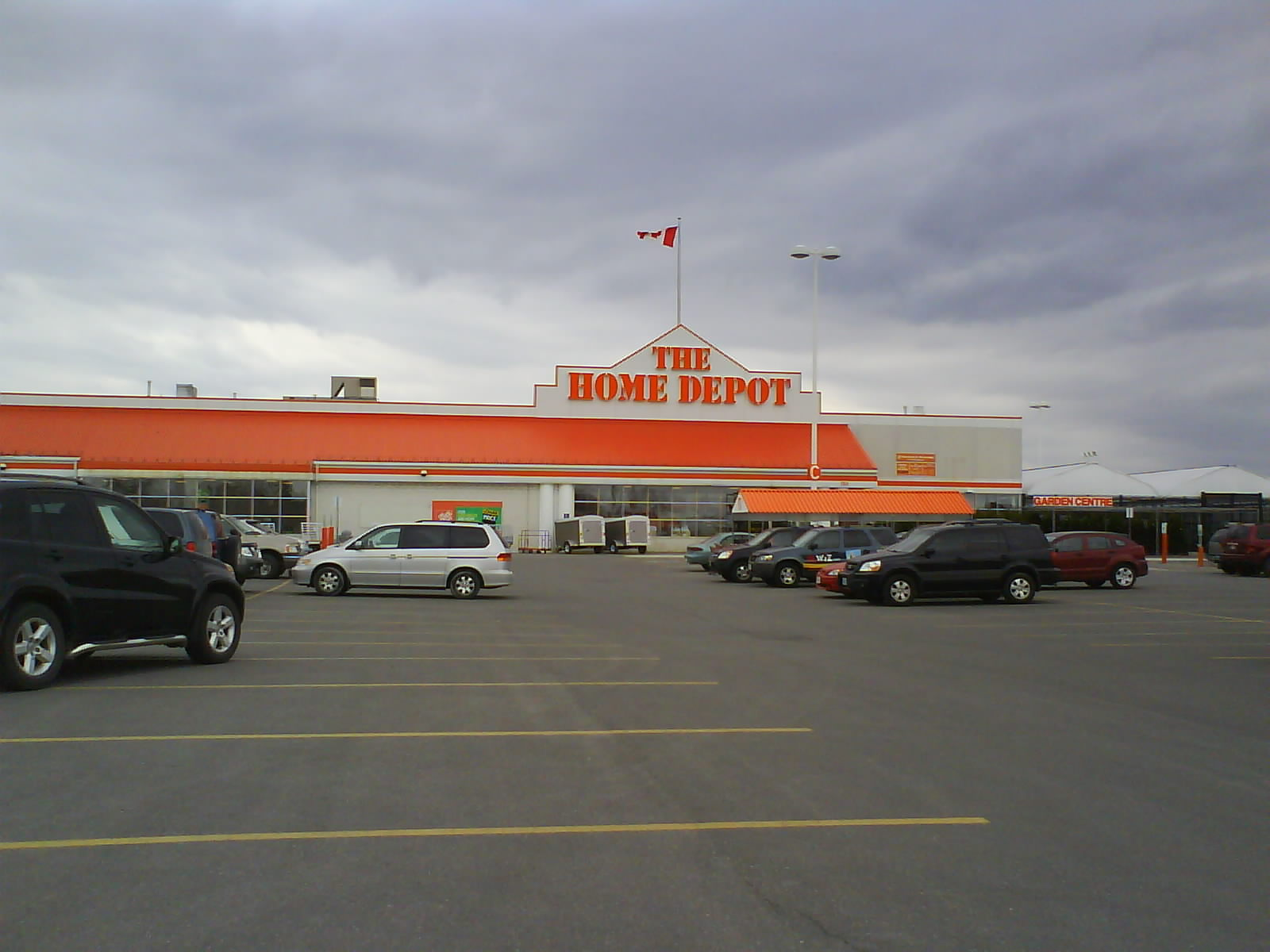 Vaughan Home Depot Architecture 43 Branding Advocating The Form Adopted As