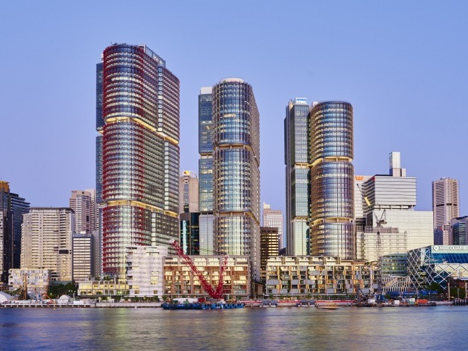 Exterior Landscaping Barangaroo Wins Asia Pacific Sustainability Leadership