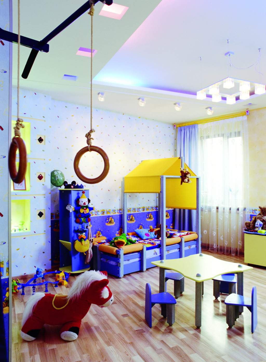The Kidsroom Blue Kids Room Design Architecture And Interior Design