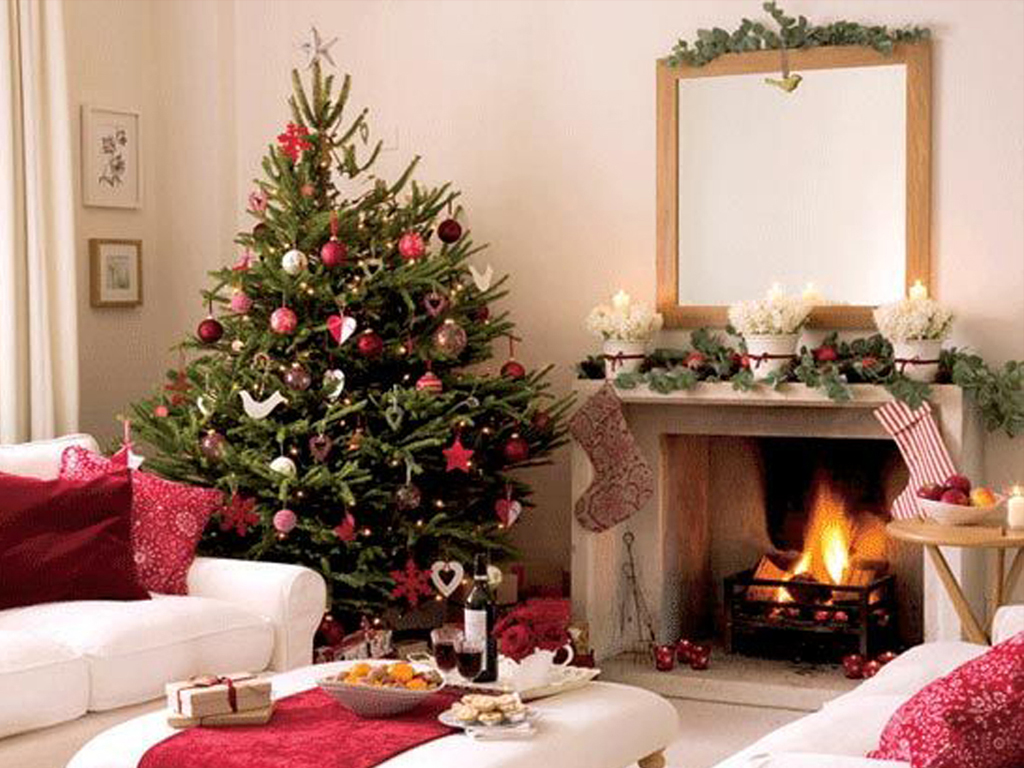 Christmas Interior Design White Xmas Architecture And Interior Design