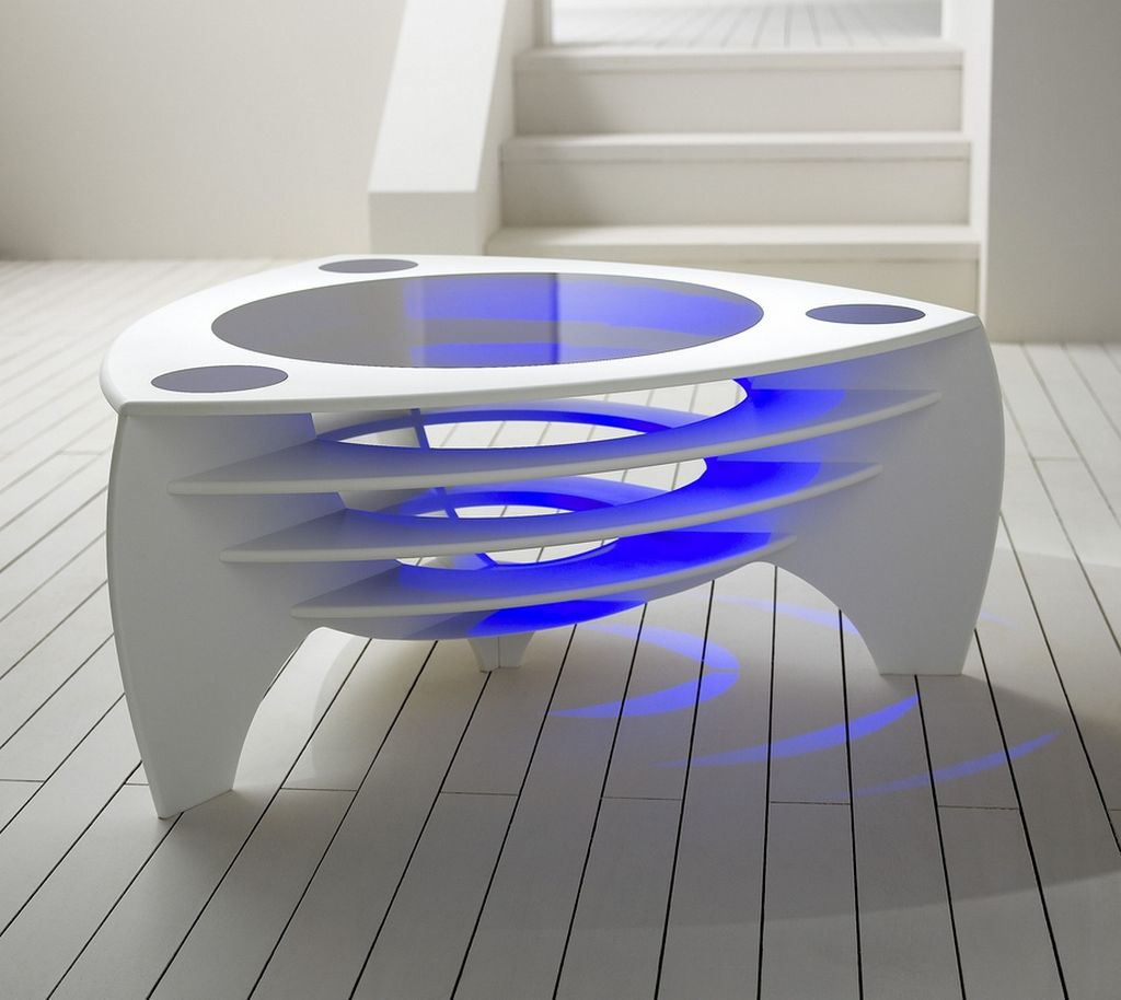 Cool Futuristic Furniture Modern Coffee Table Architecture And Interior Design