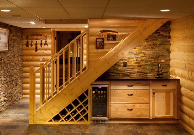 Como Decorar Puertas De Interior 33 Useful Examples How To Use Your Space Under The Staircase