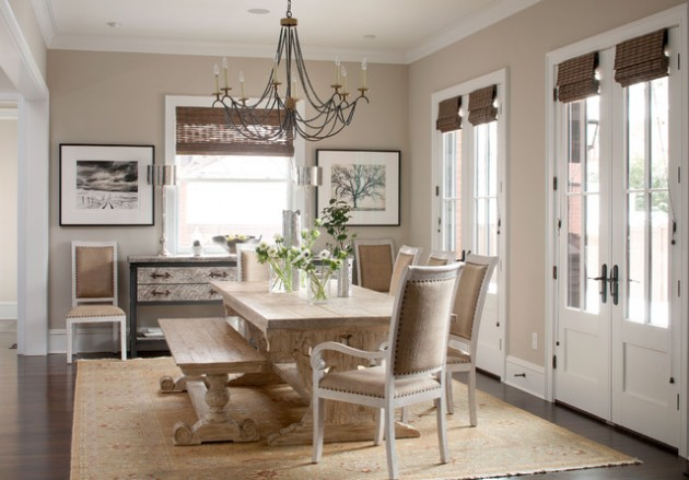 Chaise Barcelona 20 Country French Inspired Dining Room Ideas