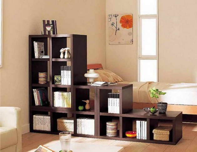 Meuble De Séparation Ikea 20 Great Ideas For Partition With Shelves