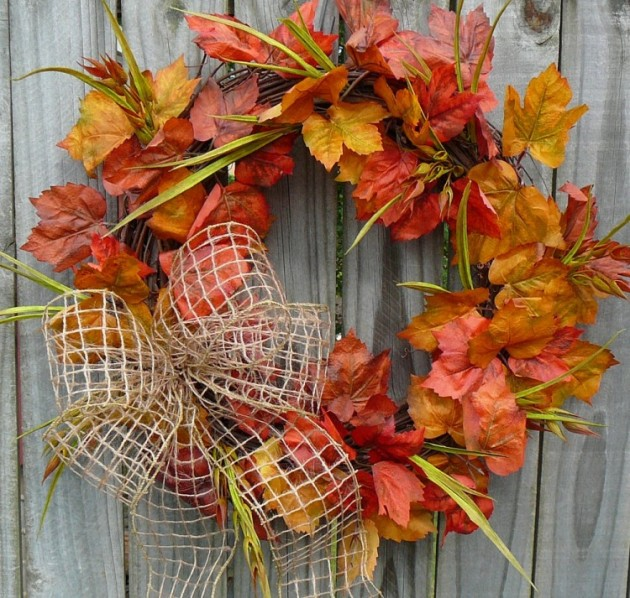 Diy Herfst 35 Charming Diy Fall Wreath Ideas