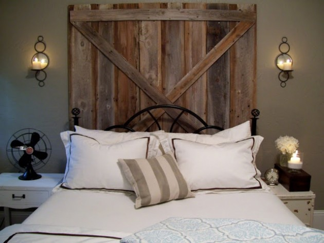 How To Make Headboards For King Size Beds 38 Creative Diy Vintage Headboard Ideas
