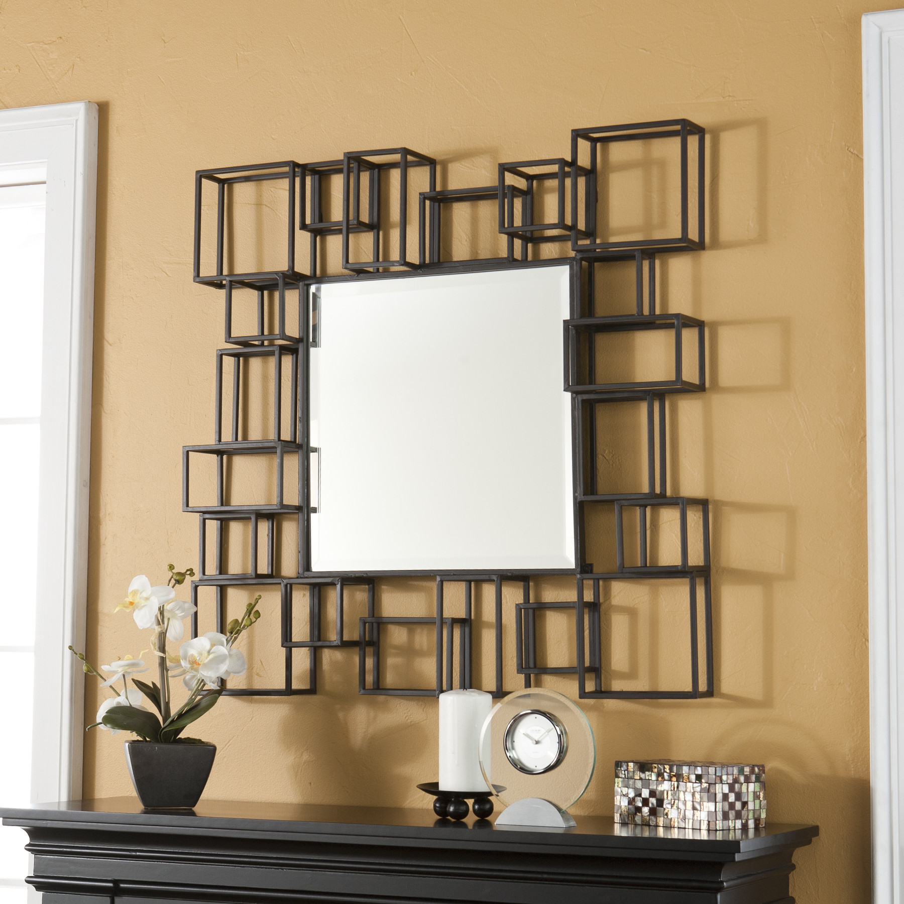 Unique Wall Mirrors Decor 23 Fancy Decorative Mirror Designs