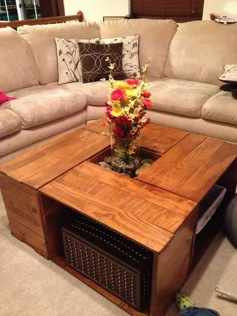 Couchtisch Square 25 Vintage Diy Coffee Table Ideas