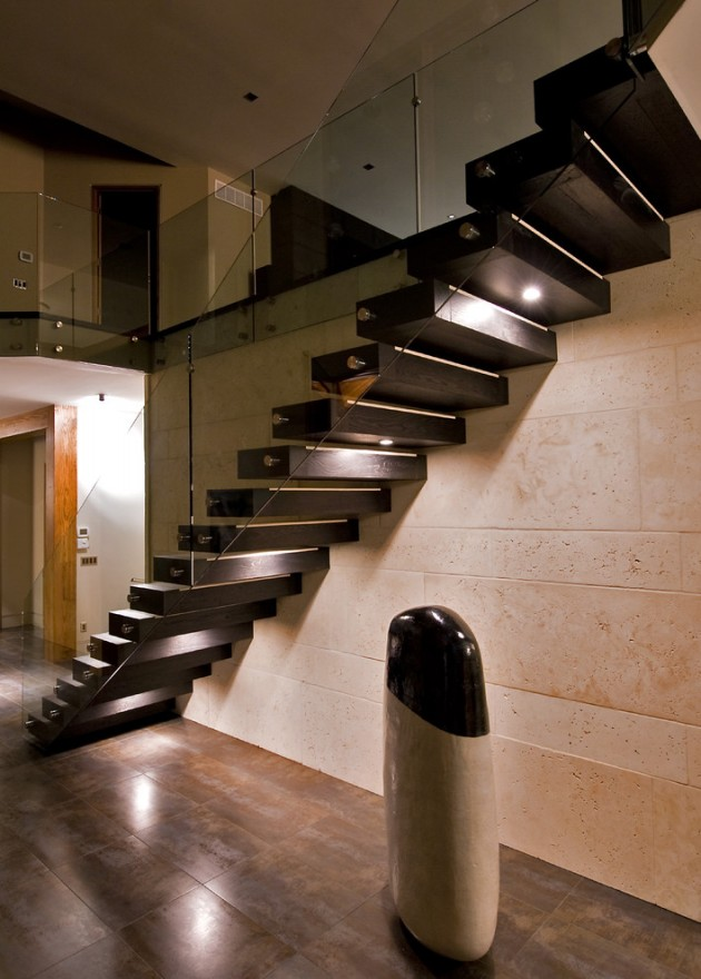 Eclairage Led Suspendu 15 Uplifting Modern Staircase Designs For Your New Home