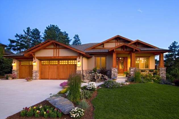 inviting american craftsman home exterior design ideas craftsman house plan square feet bedrooms dream