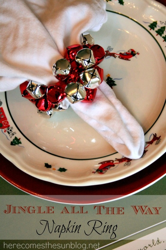 Pinterest Deco Table 17 Fascinating Diy Christmas Napkin Holders To Add A