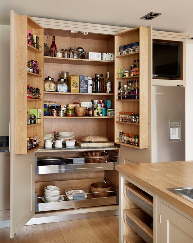 Kitchen Pantry Ideas 15 Handy Kitchen Pantry Designs With A Lot Of Storage Room
