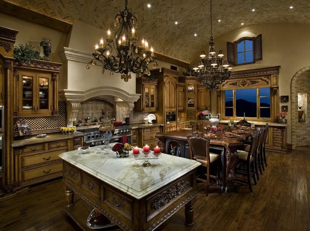 exquisite mediterranean kitchen interior designs elegant cooking interior design decorating elegant kitchen cabinet island design ideas