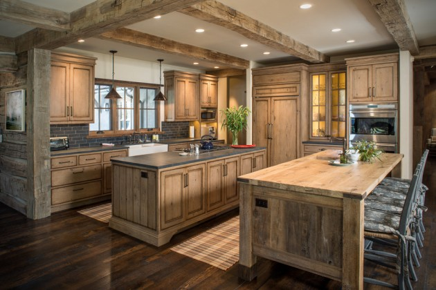 Moderne Country Küche 15 Warm Rustic Kitchen Designs That Will Make You Enjoy
