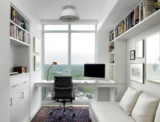 Mini Office 18 Adorable Mini Home Office Designs For Small Apartments