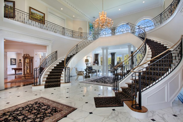 French Villa 18 Palatial Mediterranean Staircase Designs That Redefine