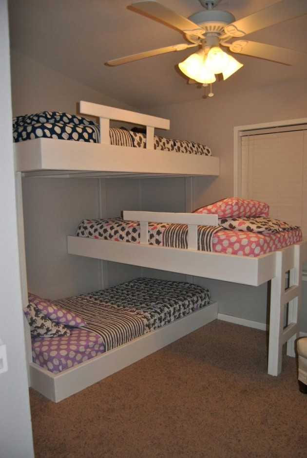 Wall Bed Ikea 20 Efficent Solutions For Decorating Triplet Bedroom