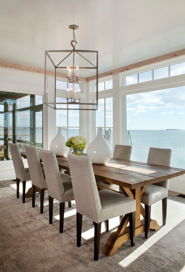 Chaises Interiors 22 Unbelievable Coastal Dining Room Designs To Brighten Up
