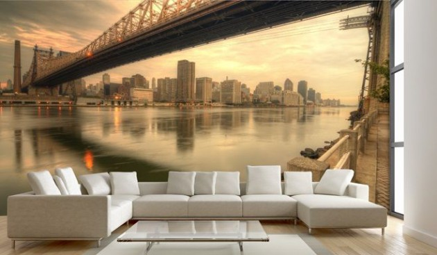 Foto Wohnzimmer 15 Refreshing Wall Mural Ideas For Your Living Room