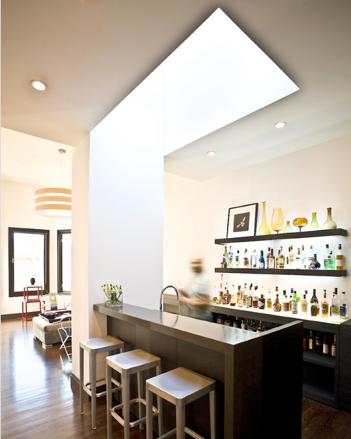 Bartheke 17 Incredible Contemporary Home Bar Designs You're Going