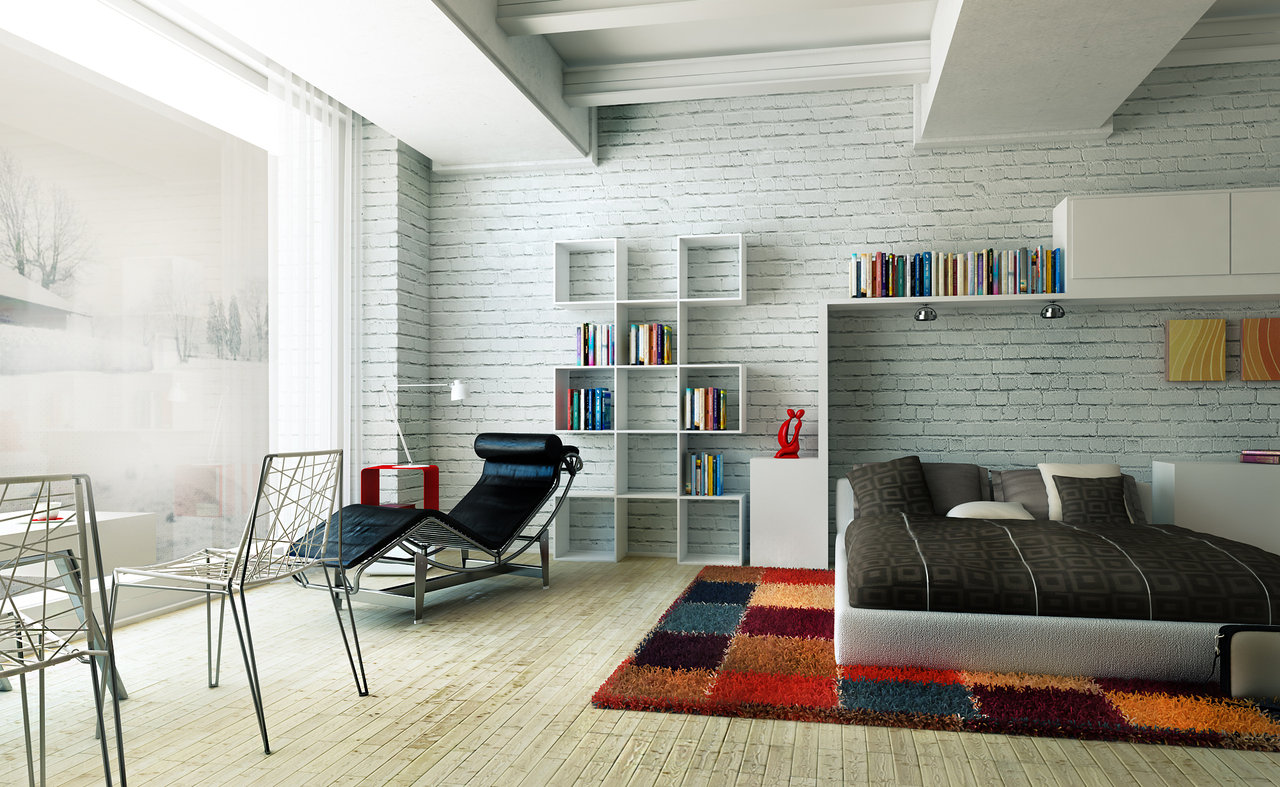 Interior Brick Wall Design Ideas 16 White Brick Wall Interior Designs To Enter Elegance In