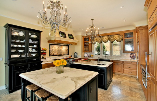 Reclaimed Kitchen Island 18 Stunning Kitchen Designs With Double Kitchen Island