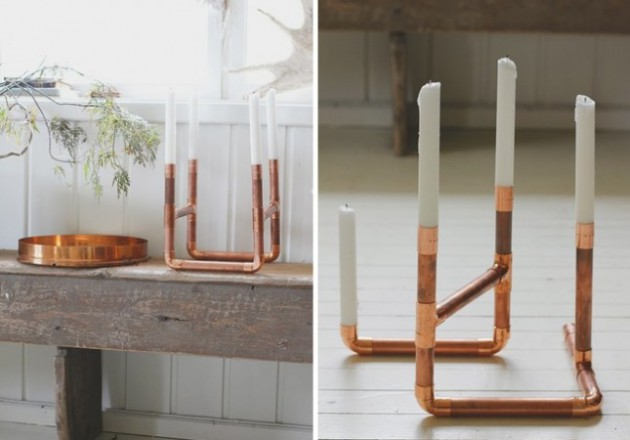 Kupfer Deko 19 Diy Copper Pipe Projects To Beautify Your Home