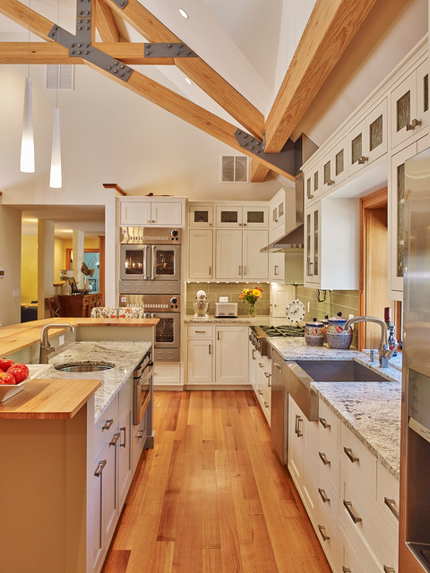 Wood Desk Designs 15 Elegant Traditional Kitchen Interior Designs You Can