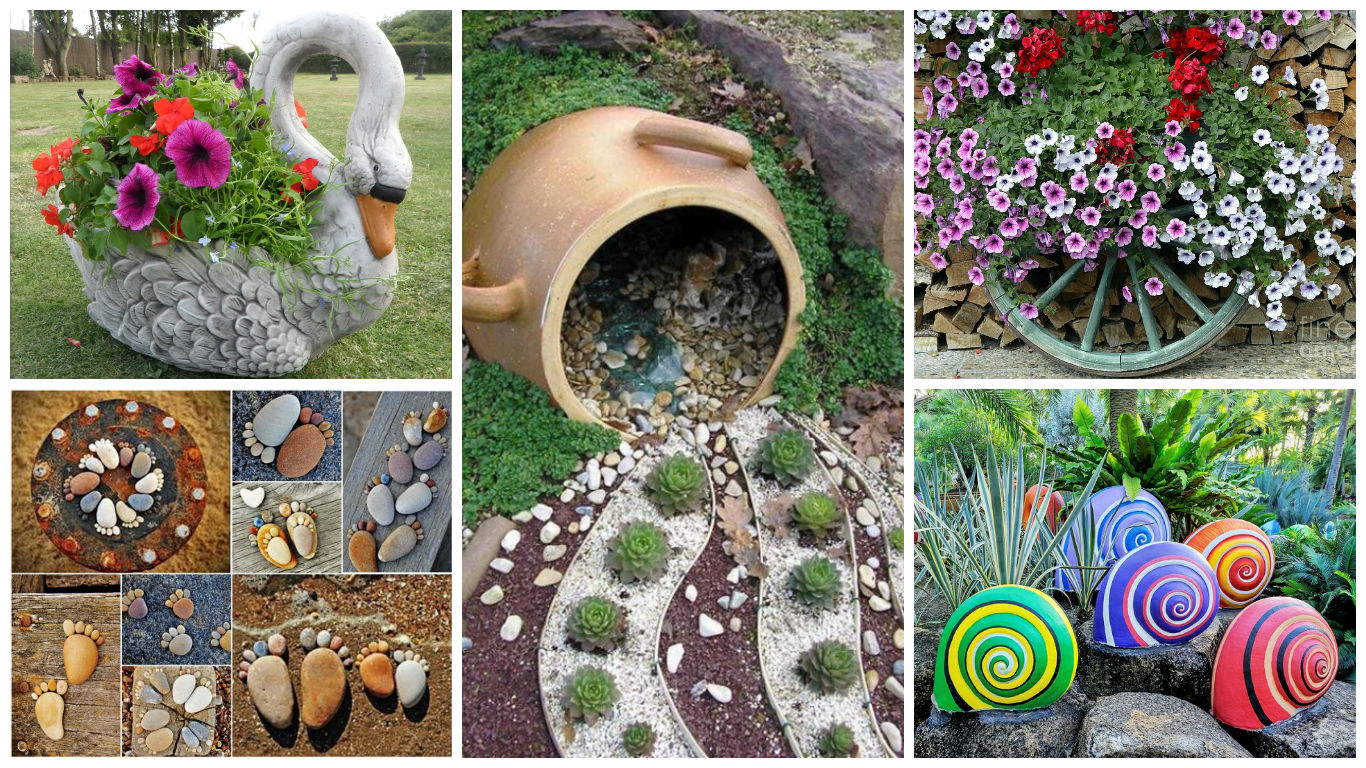 Giardinaggio Fai Da Te Idee 16 Magnificent Diy Garden Decorations That Will