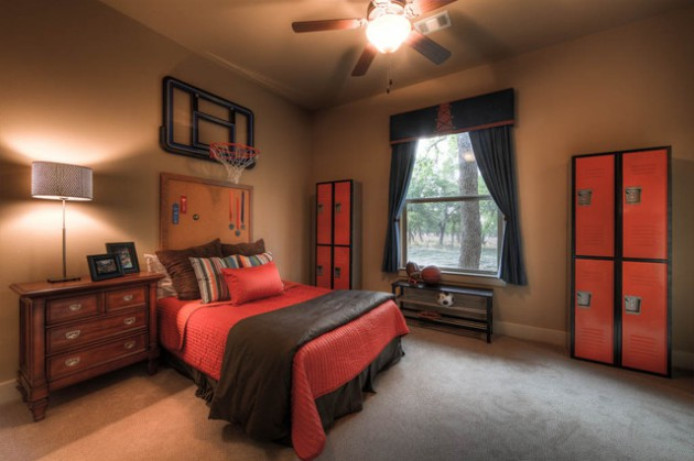 Farmhouse Nursery 14 Awesome Basketball Themed Rooms For Your Youngsters