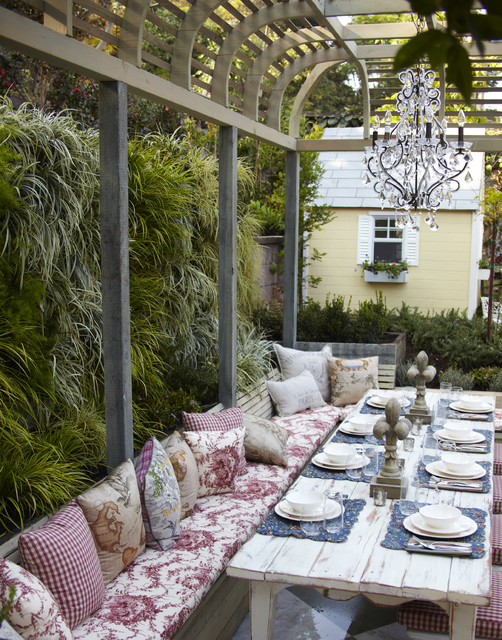 Amenagement Terrasse Deck 16 Snug Shabby Chic Patio Designs That Will Transform Your