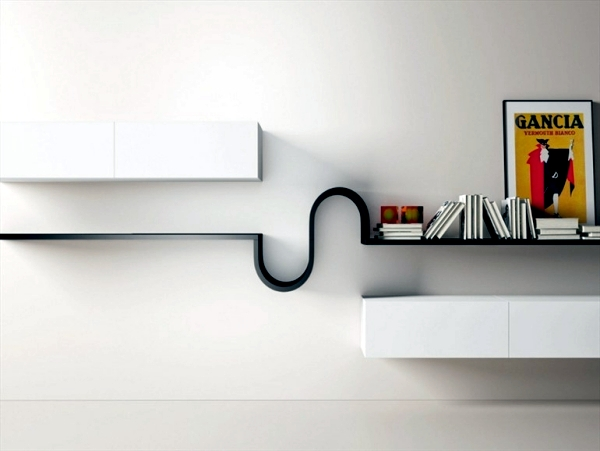 Wandregal Modern 15 Fabulous Minimalist Shelves For Your Living Room In