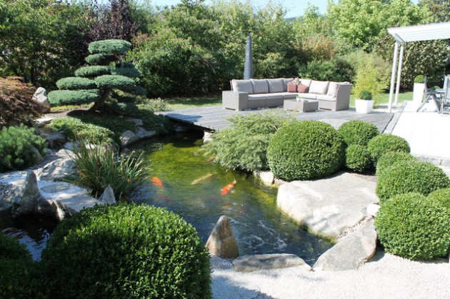 Moderner Koiteich 18 Restful Asian Inspired Landscape Designs That Will