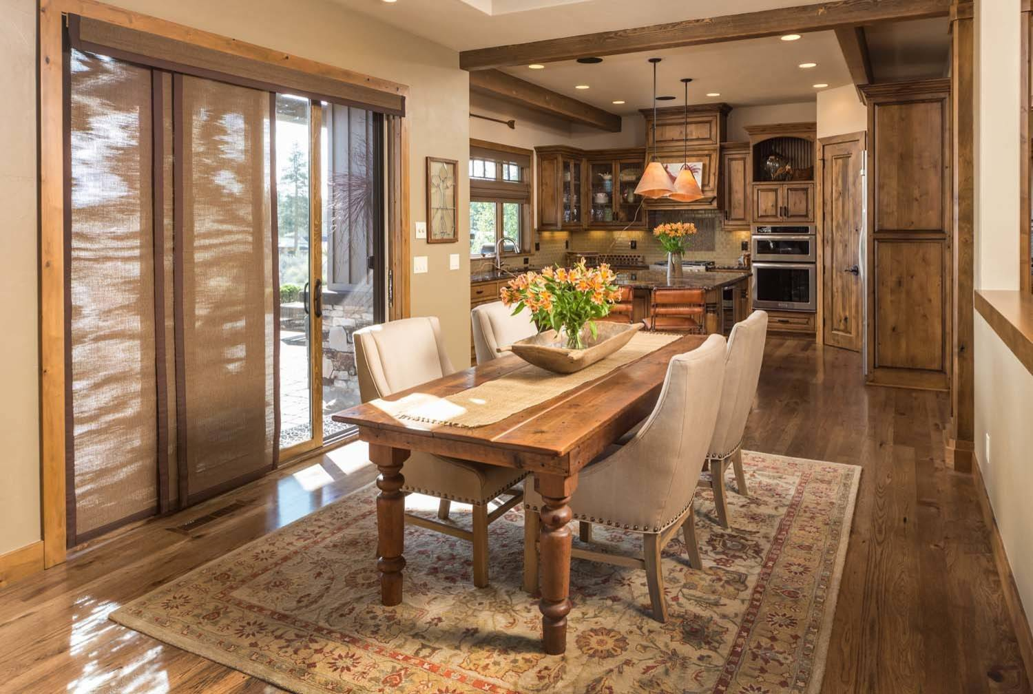 Kitchen Ideas Ranch Style House 16 Majestic Rustic Dining Room Designs You Can't Miss Out