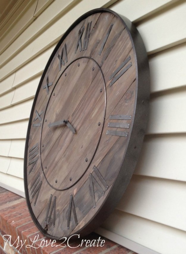 Big Clock Wall 14 Amazing Diy Decor Ideas To Upgrade Your Dining Room With