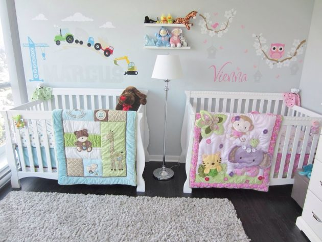 Newborn Babies Twins 19 Interesting Ways To Decorate Stunning Nursery For Twins