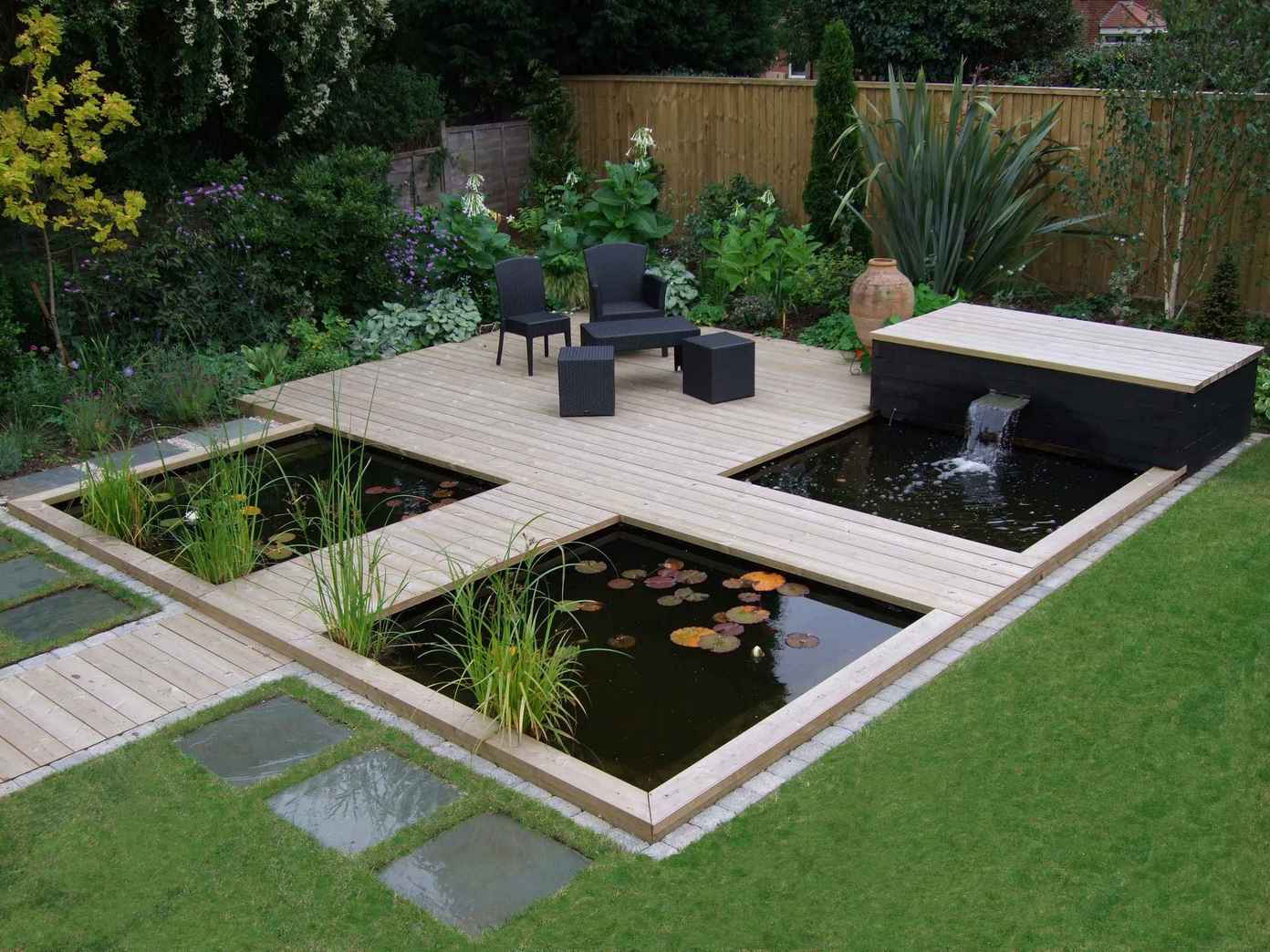 Terrasse Zen Design 16 Attractive Garden Pond Designs That Everyone Should See