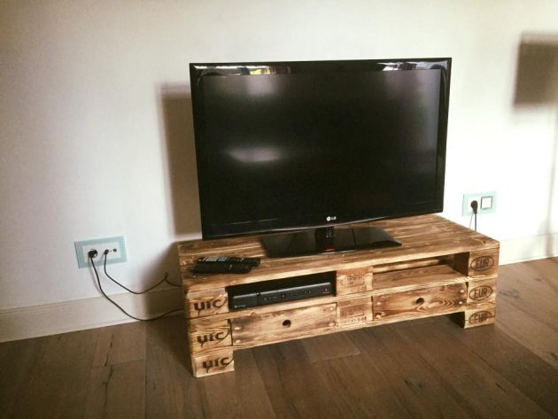 Meuble Tv Bois Original 18 Fascinating Ideas To Make Original Pallet Tv Stand For Free